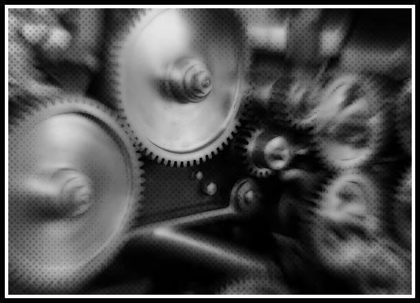 Nouvelle - Partouse des sens mécaniques
